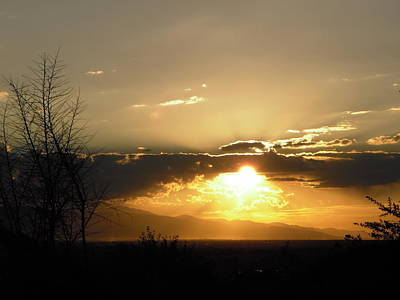Photograph - Sunset In Apple Valley, Ca by Stephanie Moore