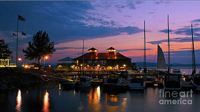 Photograph - Sunset In Burlington by Scenic Vermont Photography