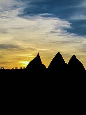 Photograph - Sunset In Cappadocia by Helissa Grundemann