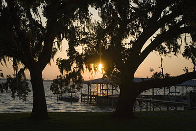 Sunset In Central Florida Art Print by Christopher Purcell