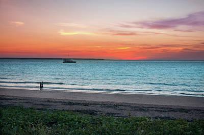 Photograph - Sunset In Darwin, Australia by Daniela Constantinescu