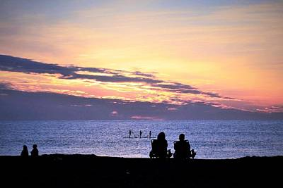 Photograph - Sunset Watch by Kim Bemis