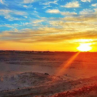 Landscapes Wall Art - Photograph - Sunset In Egypt by Usman Idrees