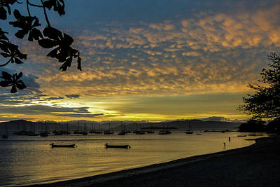 Photograph - Sunset In Florianopolis by Helissa Grundemann