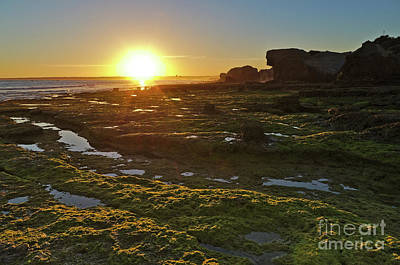 Photograph - Sunset In Gale Beach. Albufeira, Portugal by Angelo DeVal
