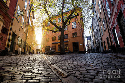Photograph - Streets Of Gamla Stan by JR Photography