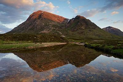 Photograph - Sunset In Glencoe by Stephen Taylor