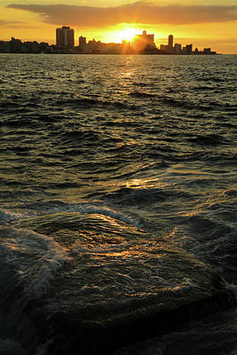 Photograph - Sunset In Havana by Mary Buck