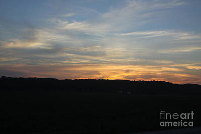 Photograph - Sunset In Indiana by Parker O'Donnell