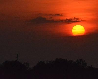 Sunset In Kentucky  Art Print