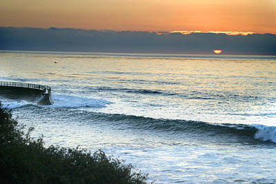 Photograph - Sunset In La Jolla by Anthony Jones