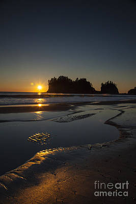 Photograph - Sunset In La Push by Timothy Johnson
