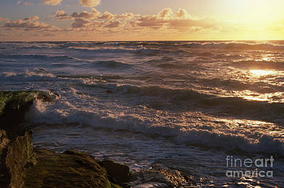 Photograph - Sunset In Lajolla by Sandra Bronstein