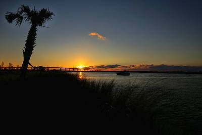 Photograph - Sunset In Lake Charles by Judy Vincent