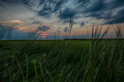 Photograph - Sunset In Margate Nj by Alissa Beth Photography