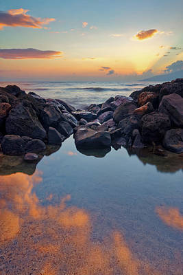 Photograph - Sunset In Maui by Francesco Emanuele Carucci