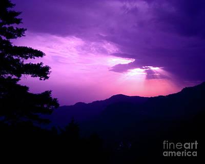 Sunset In Nainital Original by Ankeeta Bansal
