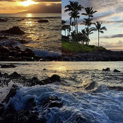 Photograph - Sunset In Napili Tonight. #mauihawaii by Darice Machel McGuire