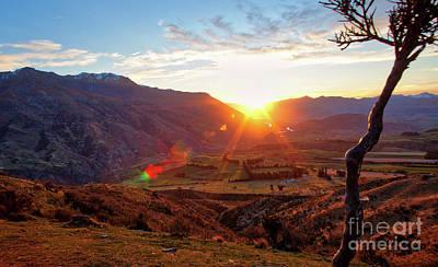 Photograph - Sunset In Nz by Erika Weber