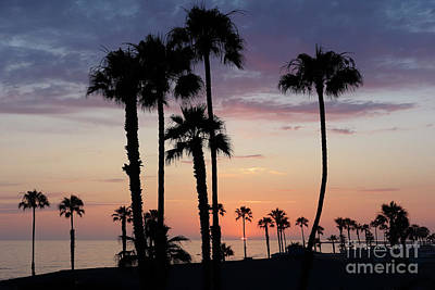 Photograph - Sunset In Oceanside by Nina Prommer