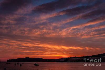 Photograph - Sunset In Palma De Mallorca. by Iryna Soltyska
