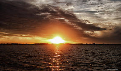 Photograph - Sunset In Paradise 2 by Debra Forand
