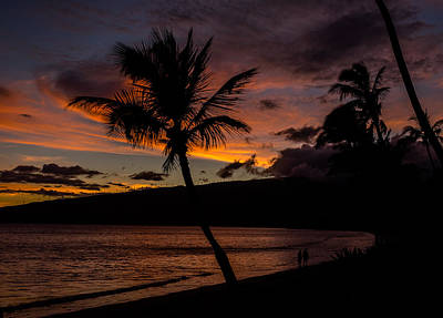 Photograph - Sunset In Paradise by David Attenborough