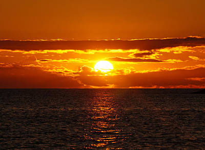Photograph - Sunset In Paradise by Pamela Walton