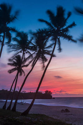 Photograph - Sunset In Paradise - Personalized by Alex Lapidus
