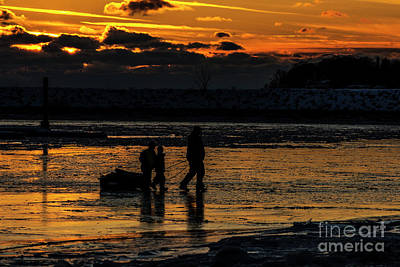 Photograph - Sunset In Port Colborne by JT Lewis