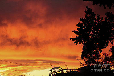 Photograph - Sunset In Reno, Nevada by Serena Ballard