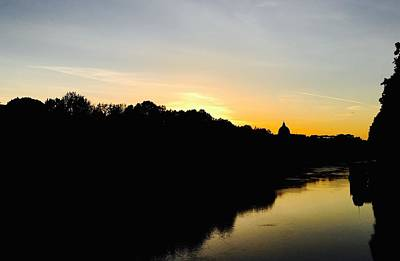 Photograph - Sunset In Rome by Chris Alberding