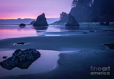 Photograph - Sunset In Ruby Beach by Sal Ahmed