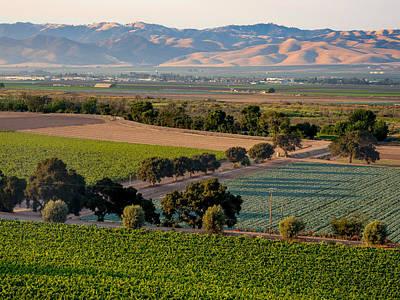 Photograph - Sunset In Salinas Valley by Derek Dean