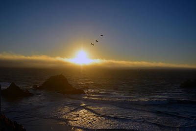 Photograph - Sunset In San Francisco by Dragan Kudjerski