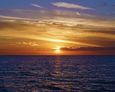 Sunset In Sw Florida Art Print
