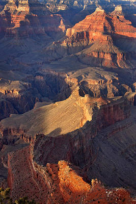 Photograph - Sunset In The Canyon by Leda Robertson