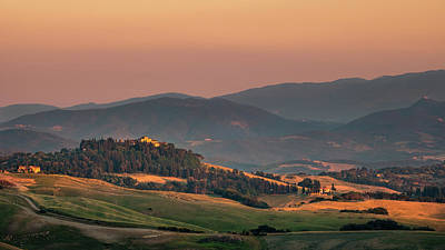 Photograph - Sunset In The Countryside by Matteo Viviani