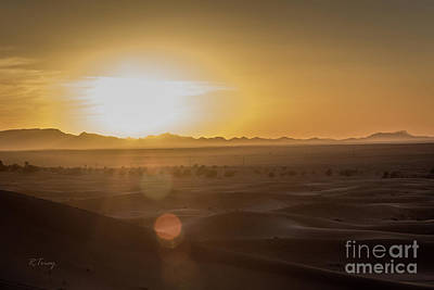 Photograph - Sunset In The Sahara by Rene Triay Photography