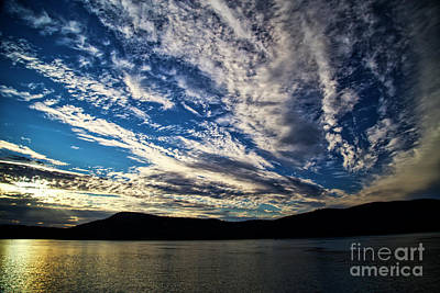 Photograph - Sunset In The San Juan Islands by Bruce Block