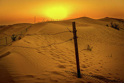 Photograph - Sunset In The Sands by Andrew Matwijec
