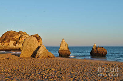 Photograph - Sunset In Three Brothers Beach. Algarve by Angelo DeVal
