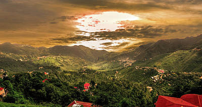Photograph - Sunset In Valley  by Manjot Singh Sachdeva