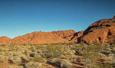 Photograph - Sunset In Valley Of Fire State Park by Kunal Mehra