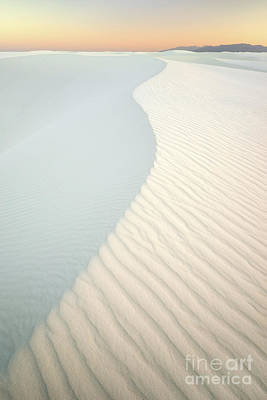 Photograph - Sunset In White Sands by Benedict Heekwan Yang
