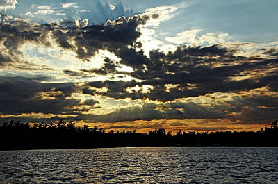 Photograph - Sunset Interrupted by Debbie Oppermann
