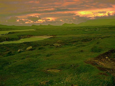 Photograph - Sunset Ireland. by Leif Sohlman