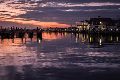Photograph - Sunset Island Heights Yacht Club by Terry DeLuco