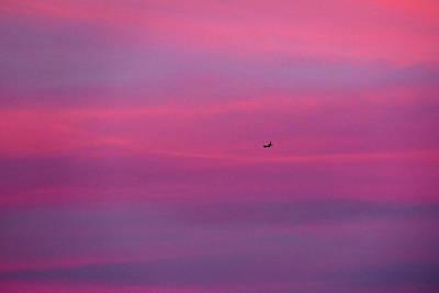Photograph - Sunset Jet by Bill Jordan