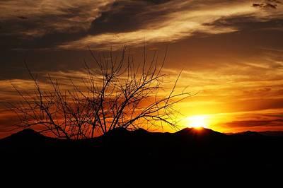 Sunset Art Print by Joseph Frank Baraba